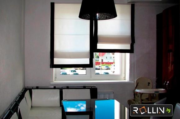 Римские шторы для гостиной, детской, кухни и офиса